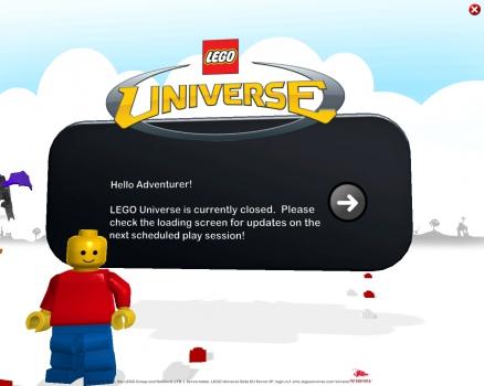 Welt der Bausteine: Lego Universe