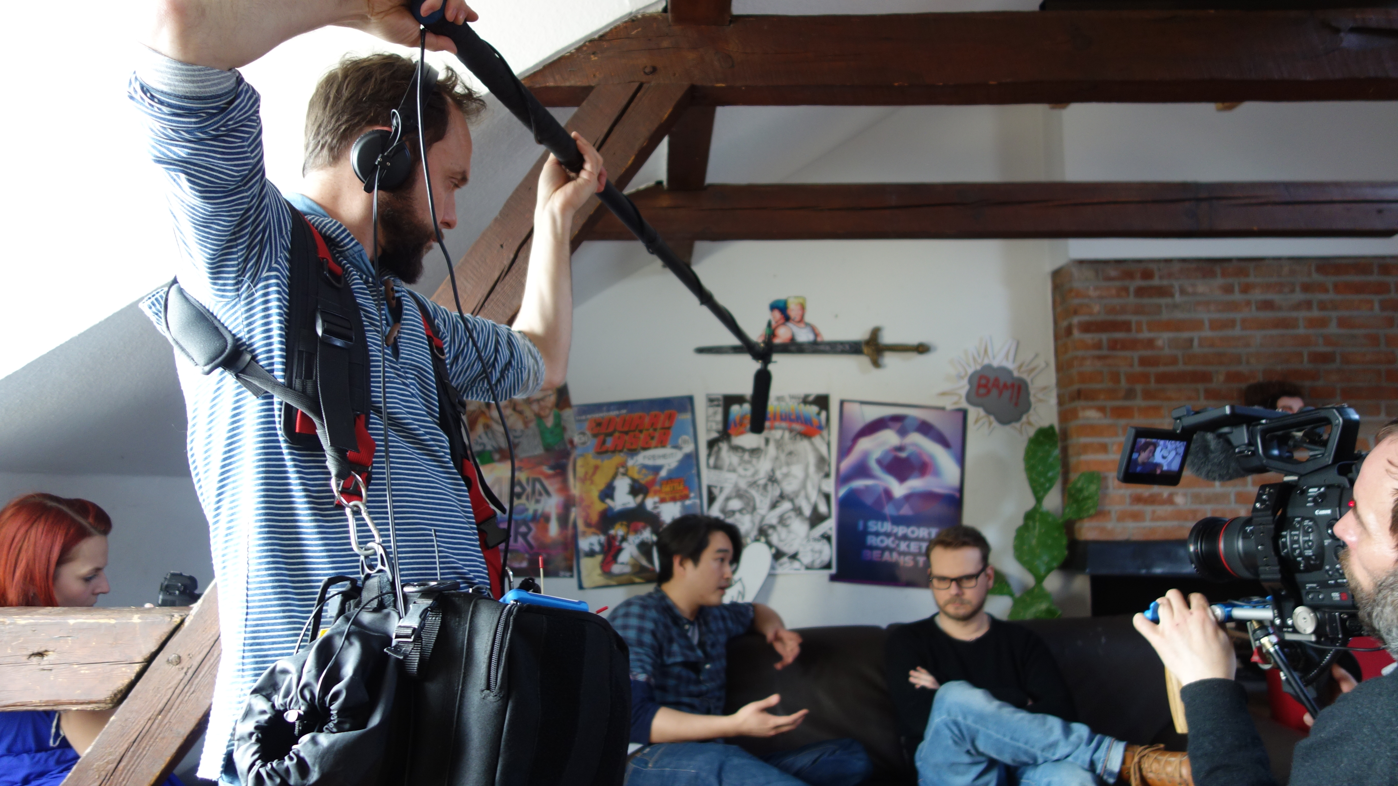 Kaminzimmer-Talk: Budi, Eddy & Sebastian