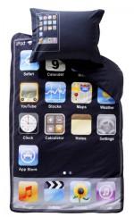 Tiefschlaf in der iPod Touch-Bettwäsche