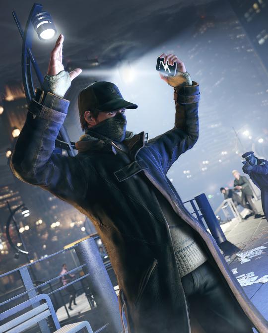 Watch Dogs-Screenshot: HandsUp_BlackOut (Quelle: Ubisoft)