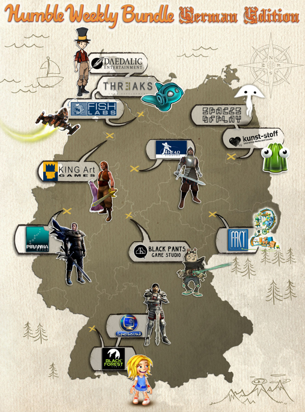 Humble Bundle German Edition: Alle Spiele