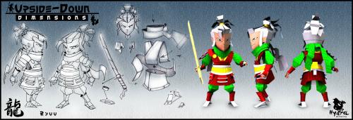 Bild: Upside-Down Dimensions, Hydra Interactive Entertainment, Game Art