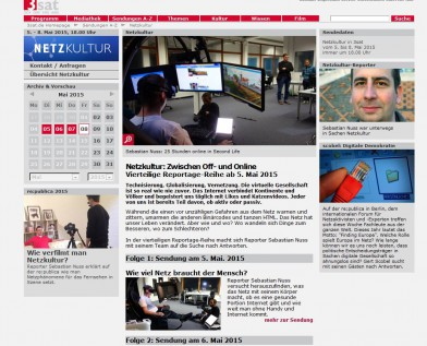 Alle 4 Folgen in der Mediathek: 3sat.de/netzkultur