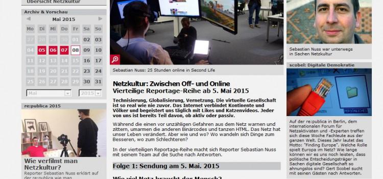 Netzkultur-Reportagen: Online gucken