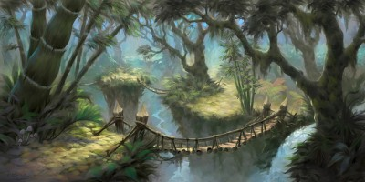 Die Verlorenen Inseln, Artwork aus Cataclsym (Bild: Blizzard)