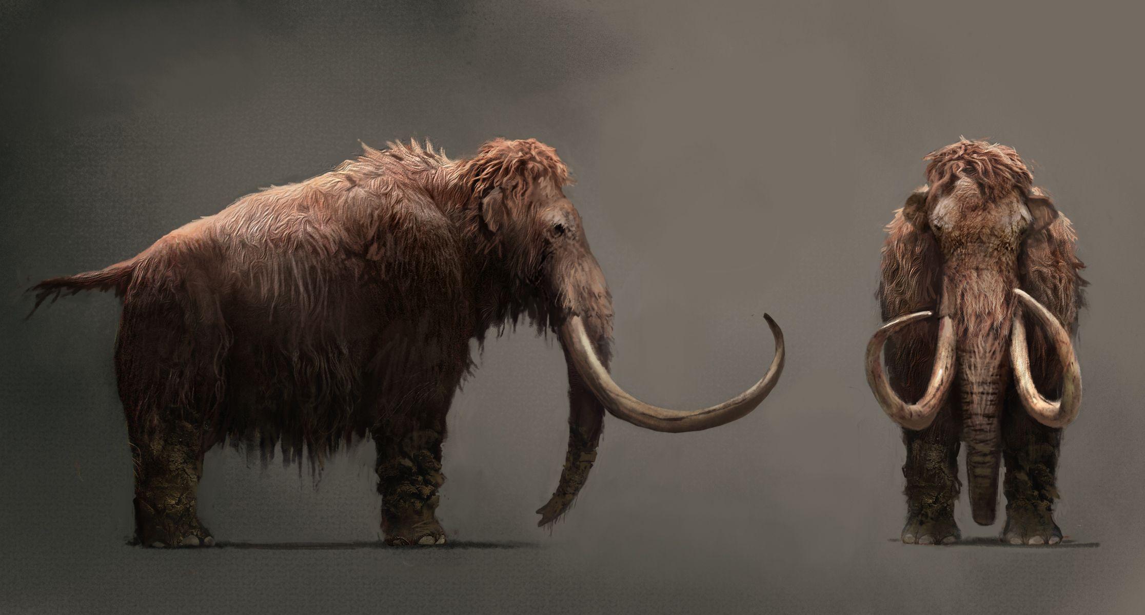 Mammut, FC Primal: Concept Art (Bild: Ubisoft)