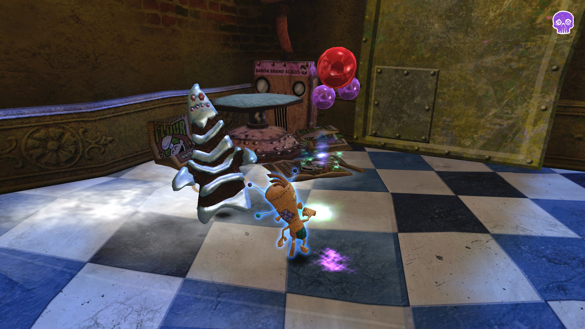 Screenshot Voodoo Vince Remastered (Bild: Beep games)