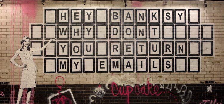 Nieder mit der Email!